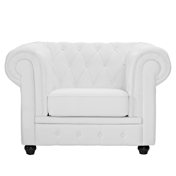 Chesterfield Chair By Modway No Copoun