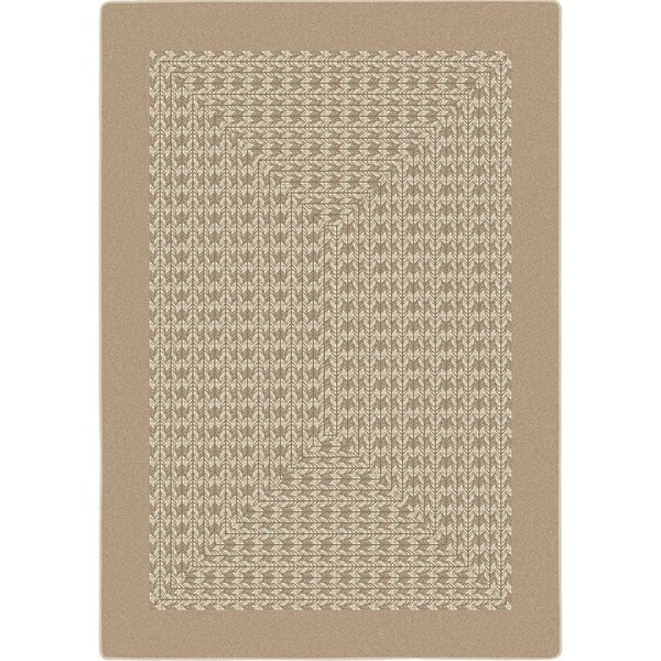 Constantine Beige Area Rug by Gracie Oaks