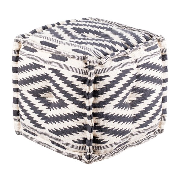 Perrine Tufted Pouf by World Menagerie