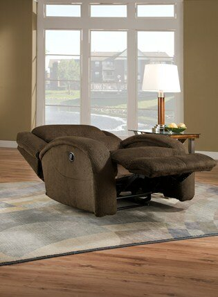 Maverick Lay Flat Chair Recliner by Southern Motion