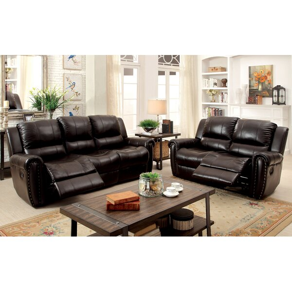 Vargas Reclining Configurable Living Room Set by Darby Home Co