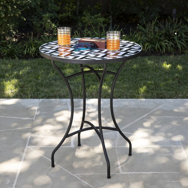 Fynfield Outdoor Bistro Table by Brayden Studio