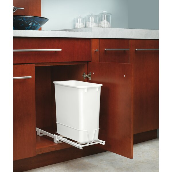 Replacement 5 Gallon Pull Out/Under Counter Pull Out/Under Counter Trash Can by Rev-A-Shelf