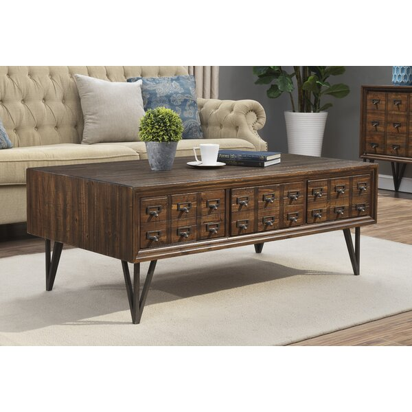 Pacheco Coffee Table With Storage By 17 Stories