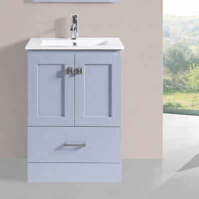 Valenti Modern 24 Single Bathroom Vanity Set by Latitude RunValenti Modern 24 Single Bathroom Vanity Set by Latitude Run