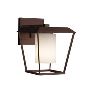 Online Reviews Luzerne 1-Light Outdoor Sconce By Brayden Studio