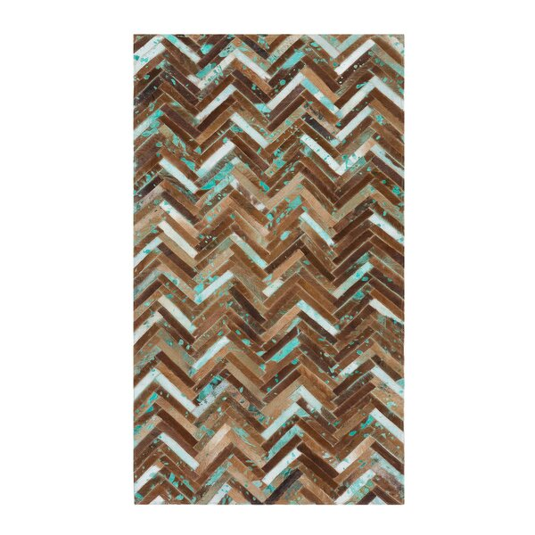 Amasya Hand-Woven Brown Area Rug by Home Loft Concepts