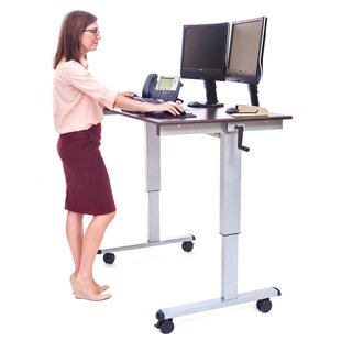 Belvedere Adjustable Standing Desk by Symple Stuff Wonderful