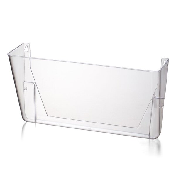 Wall File, 13x4-1/8x7, Letter, Clear by Officemate International Corp
