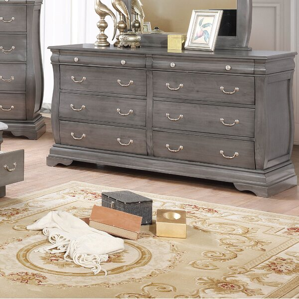 Monge 8 Drawer Double Dresser by One Allium Way