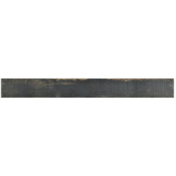 Rama 2.75 x 23.5 Porcelain Wood Look/Field Tile in Black by EliteTile