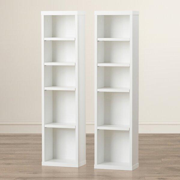 Elma Multimedia Storage Standard Bookcase (Set of 2) by Zipcode Design