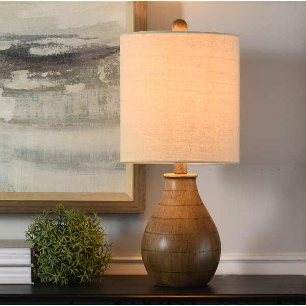 "George Oliver Villegas Rustic 21.5"" Table Lamp & Reviews by George Oliver"