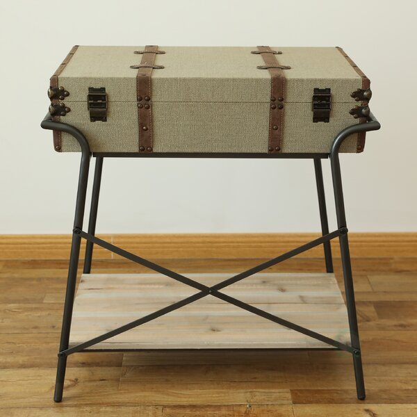 Margrett Storage End Table by Williston Forge