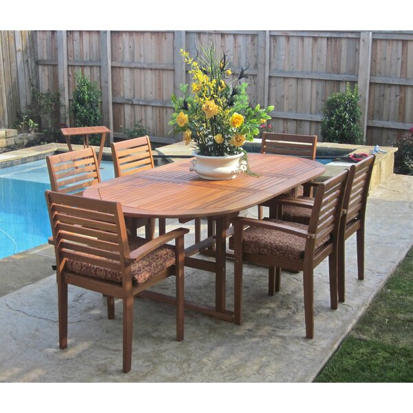Sabbattus 6 Piece Dining Set by Breakwater Bay