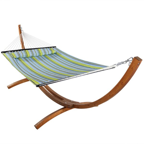 Eggers Spreader Bar Hammock with Stand by Darby Home Co