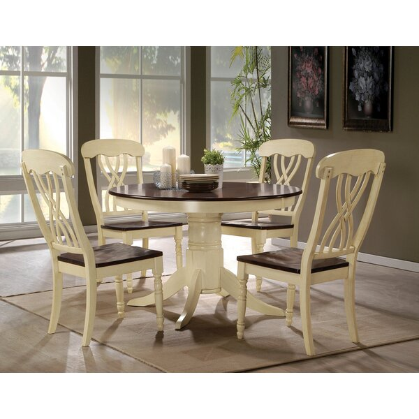 Chamberlain 5 Piece Dining Set by August Grove August Grove