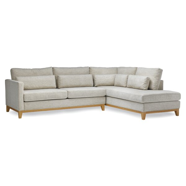 Nakia Right Hand Facing Sectional By Gracie Oaks