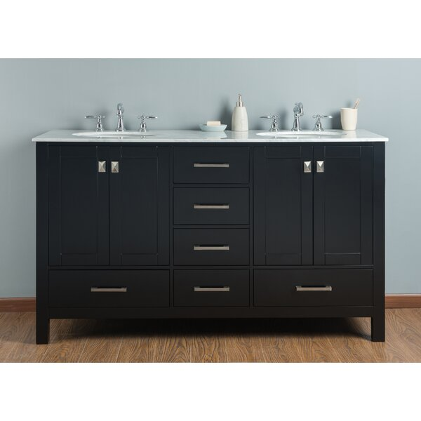 Ankney 60 Double Bathroom Vanity Set by Brayden Studio