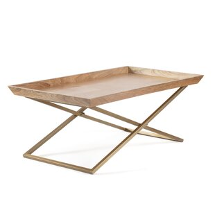 Affordable Price Newcomb Cross Leg Tray Top By Union Rustic