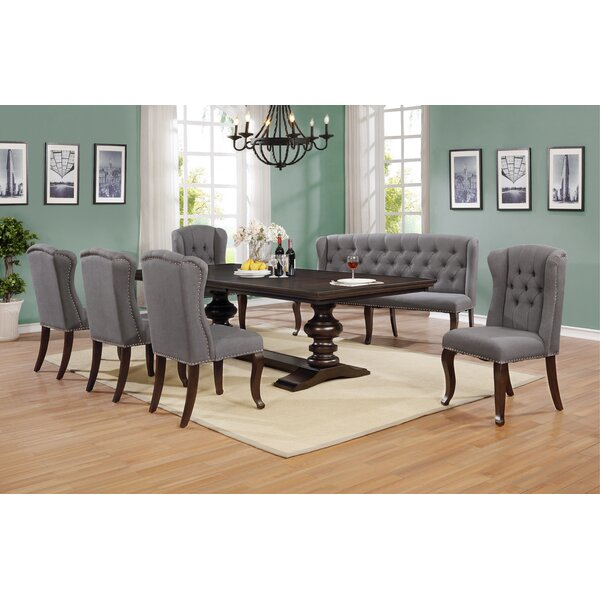 Alcorn 7 Piece Extendable Dining Set by Canora Grey Canora Grey