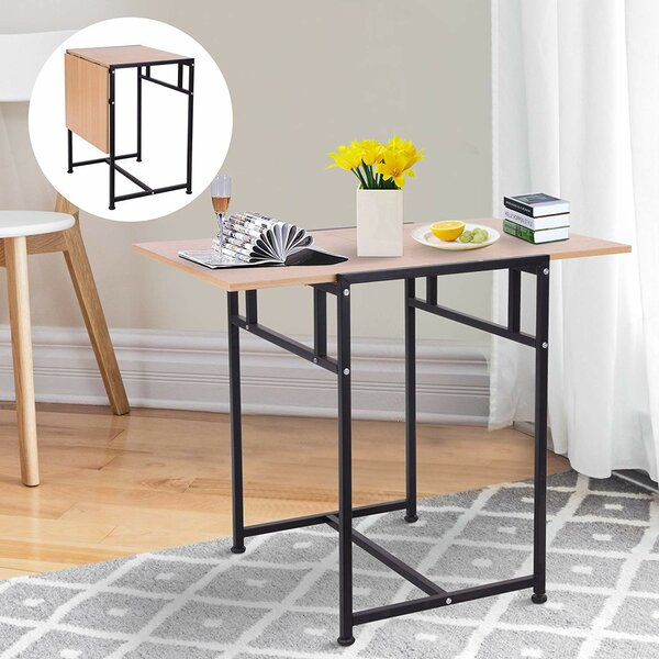 Boylon Versatile Drop Leaf Desk by Symple Stuff