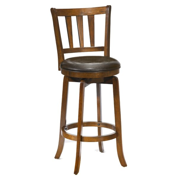 Malcolm 29.5 Swivel Bar Stool by Darby Home Co