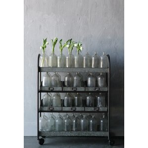 Casual Country Bar Cart by Creative Co-Op
