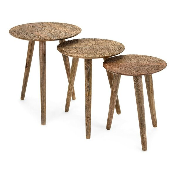 Auerbach 3 Piece Nesting Tables by Foundry Select