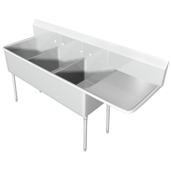 94 x 25.5 Free Standing Service Sink by IMC Teddy