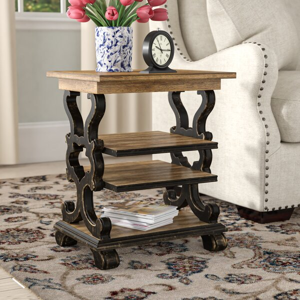 Sanctuary Trestle End Table by Hooker Furniture