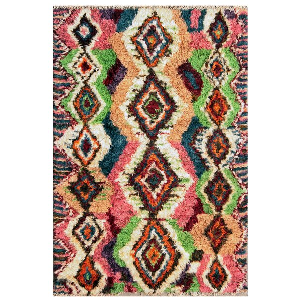 Moroccan Hand-Knotted Area Rug by Pasargad