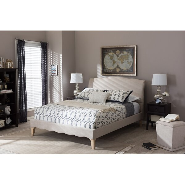 Pondella Upholstered Platform Bed by House of Hampton