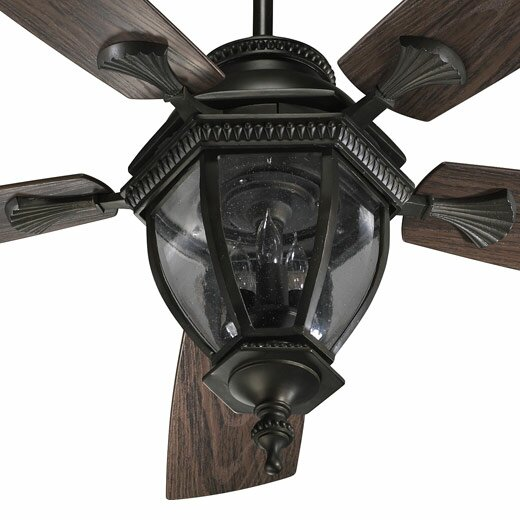 52 Winn 5-Blade Patio Ceiling Fan by Fleur De Lis Living