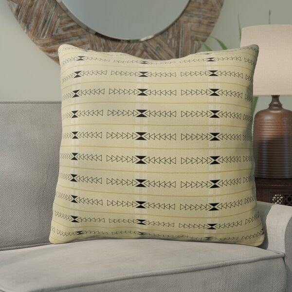 Daniela Indoor / Outdoor Geometric Euro Pillow