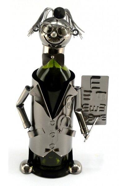 Optometrist 1 Bottle Tabletop Wine Bottle Rack by Wine Bodies Wine Bodies