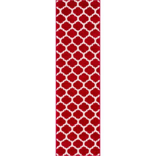 Rubino Red Area Rug by Wrought Studio