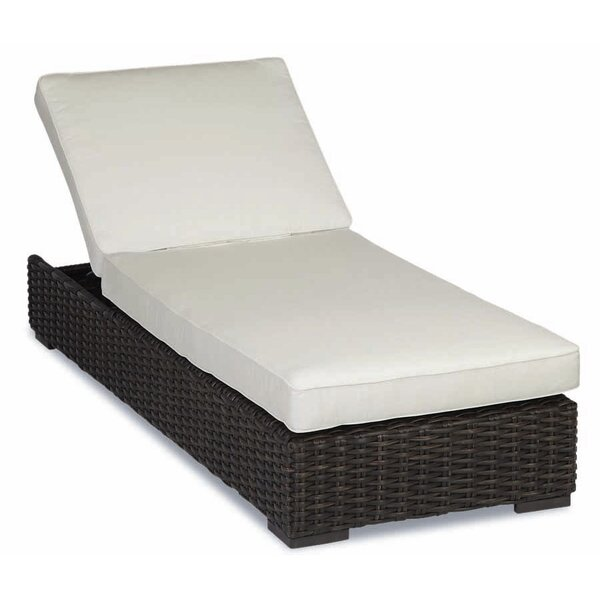 Cardiff Chaise Lounge with Cushions by Sunset West