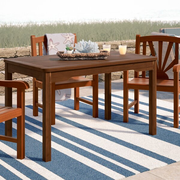 Rothstein Solid Wood Dining Table By Beachcrest Home
