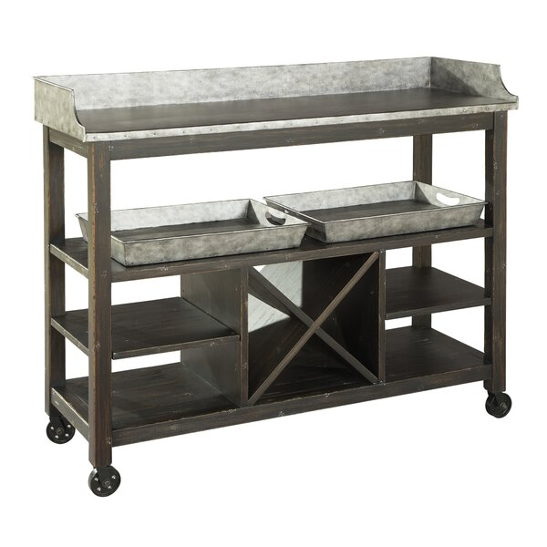 Metal Console Table By Hekman