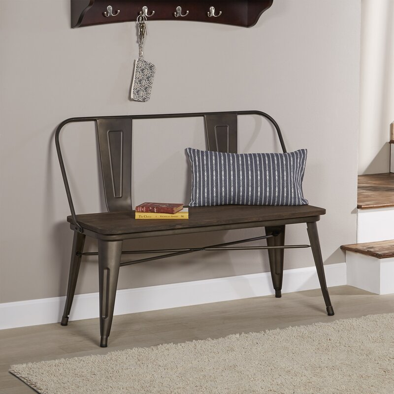 Superieur Mccreery Metal Bench