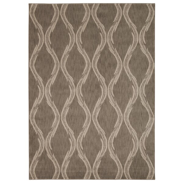 Galsworthy Taupe Area Rug by Longshore Tides