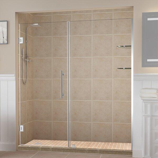 Belmore GS 72 x 72 Hinged Frameless Shower Door by Aston