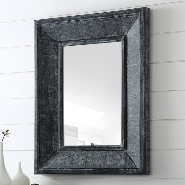 Georgeanna Transitional Urban Farmhouse Accent Mirror by Gracie Oaks