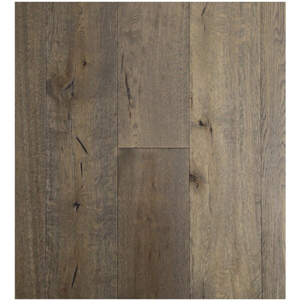 7-1/2 Engineered White Oak Hardwood Flooring in Gettysburg Grey by Easoon USA
