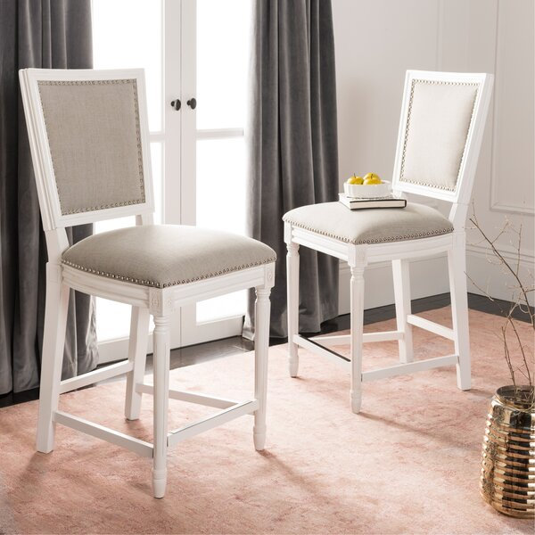 Venturini 26 Bar Stool (Set of 2) by Longshore Tides