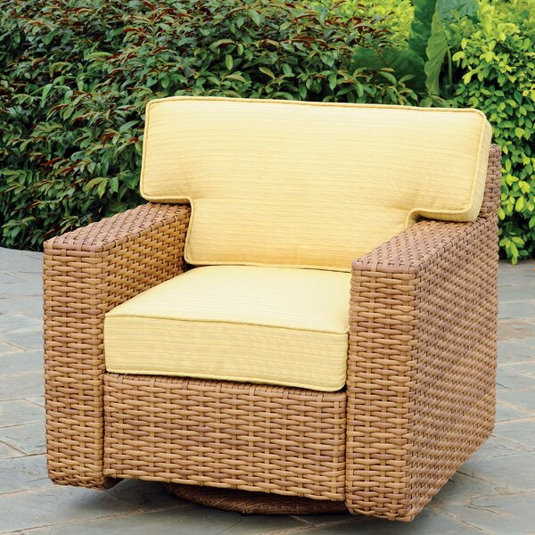 Java Swivel Glider with Cushion by South Sea Rattan