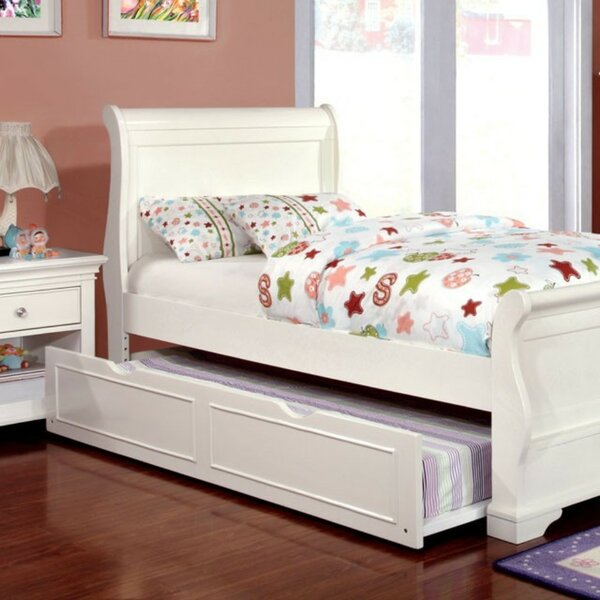Sanger Sleigh Bed by Harriet Bee