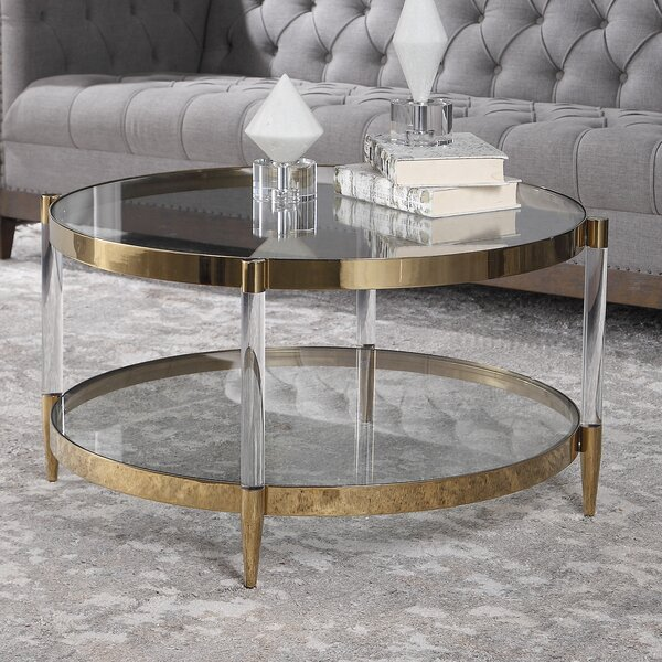 Sudie Coffee Table By Everly Quinn