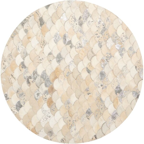 Mondrian Beige/Gray Area Rug by Mercer41